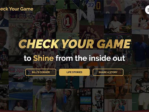 Check Your Game - website