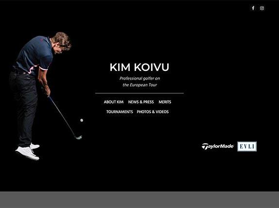 Kim Koivu Golf - website