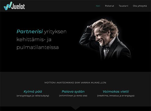 Juelot Oy - website